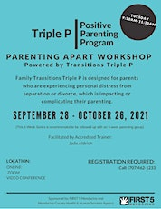 Family Transitions Triple P-Video Conference [Sep 28- Oct 26, 2021] tickets