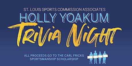 St. Louis Sports Commission Associates Holly Yoakum Trivia Night tickets