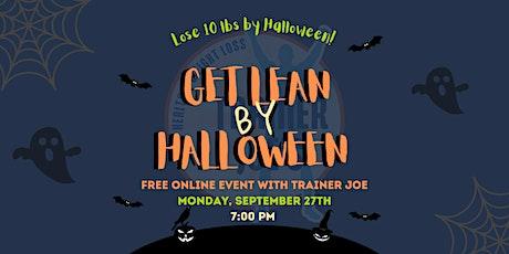 Get Lean by Halloween! tickets