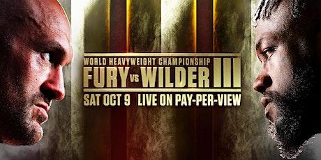 Heavyweight Boxing Trilogy:  Fury vs Wilder III LIVE on PPV at Kilo Bravo tickets