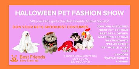 Halloween Pet Fashion Show tickets