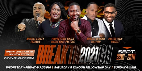 Breakthrough 2021 Conference tickets