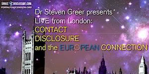 Steven Greer: ET Contact, Disclosure & The European...