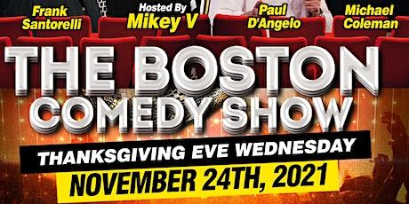 The Boston Comedy Show tickets