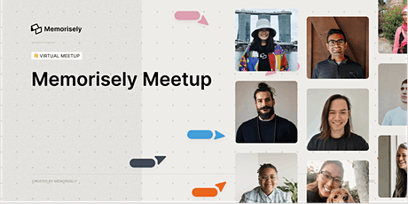 Memorisely Monthly Meetup tickets