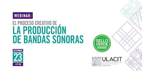 Sello Verde: El proceso creativo de la producción de bandas sonoras boletos