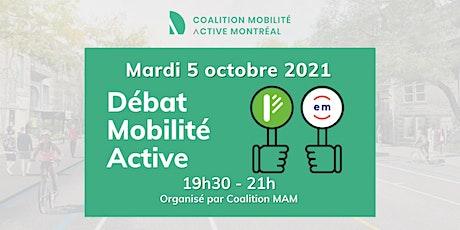 DÉBAT MOBILITÉ ACTIVE - Élections municipales 2021 tickets