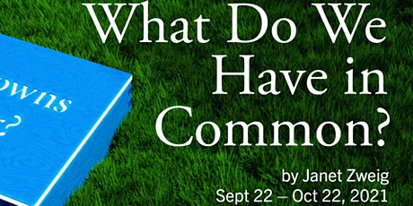 """""""What Do We Have in Common?"""" opens on Boston Common tickets"""