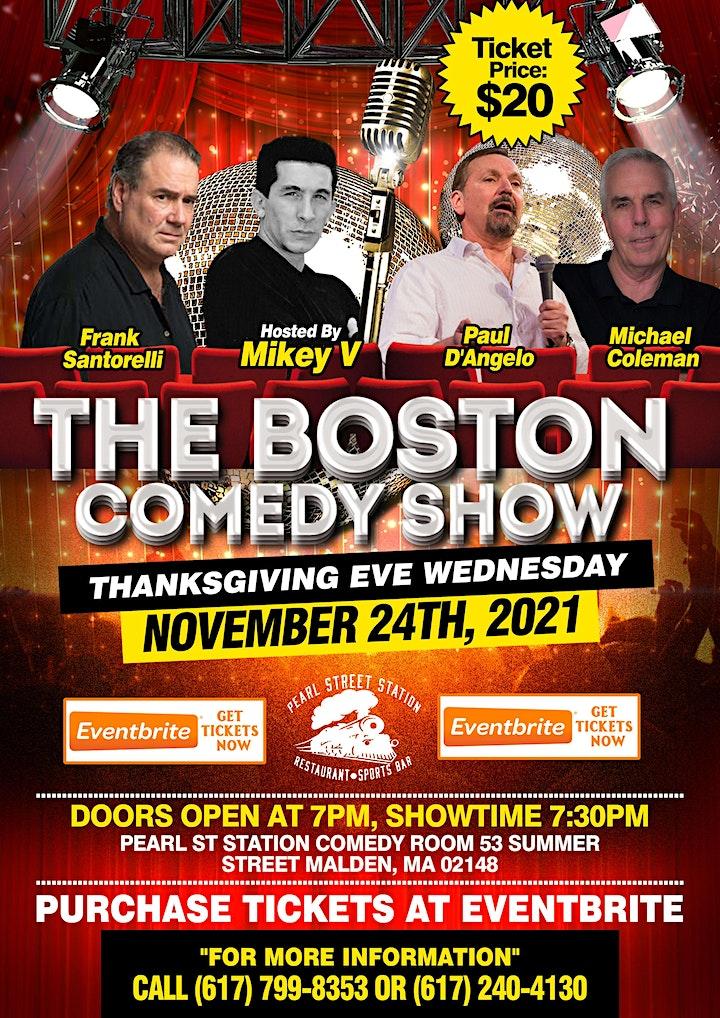 The Boston Comedy Show image