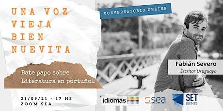 UNA VOZ VIEJA BIEN NUEVITA. Bate papo sobre literatura en portuñol. entradas