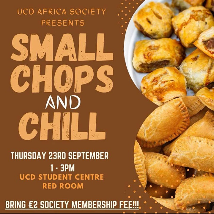 Small Chops and Chill image