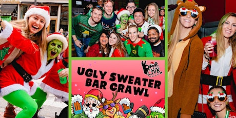 Official Ugly Sweater Bar Crawl   Chicago, IL - Bar Crawl LIVE! tickets