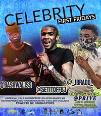 Celebrity First Fridays tickets
