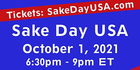 IN PERSON Sake Day USA 2021 TASTING! tickets