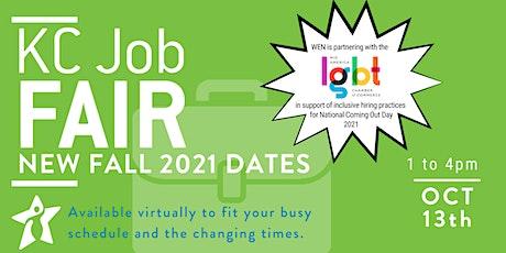 KC Job Fair Fall 2021 - October 13th tickets