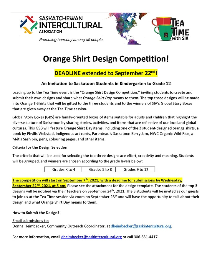 What Does Orange Shirt Day Mean to You? ~ A Panel Discussion image