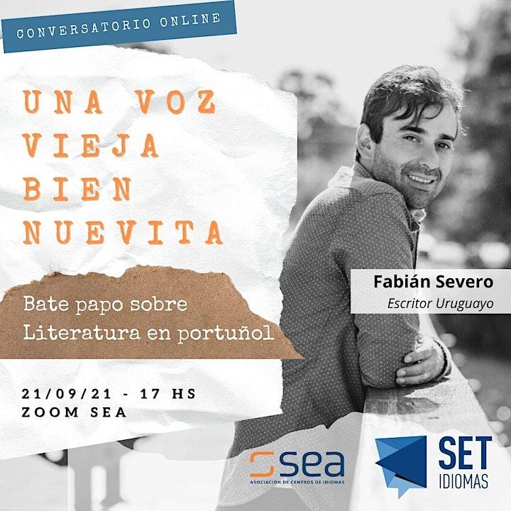 Imagen de UNA VOZ VIEJA BIEN NUEVITA. Bate papo sobre literatura en portuñol.