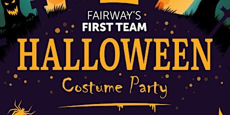 First Team VIP Dress-Up Halloween Event tickets