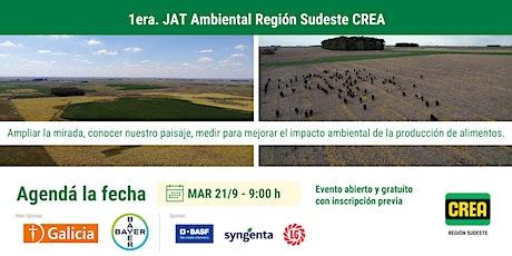 1a. JAT Ambiental Región Sudeste CREA boletos