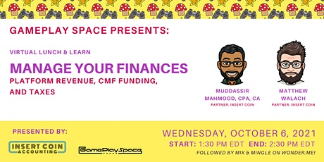 Manage Your Finances: Platform Revenue, CMF Funding, and Taxes tickets