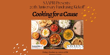 SAAPRI 20th Anniversary Fundraising Kickoff: Cooking for a Cause tickets