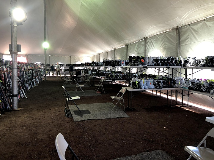2021 Flagstaff Ski Swap.  Skis, snowboards, winter clothing, and more! image