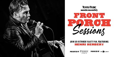Front Porch Sessions | Featuring Henri Herbert tickets