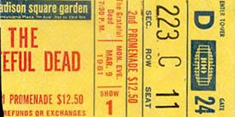 Dead Set Florida LIVE at Cage Brewing SAT SEP 25~2021 Recreating MSG 3/9/81 tickets