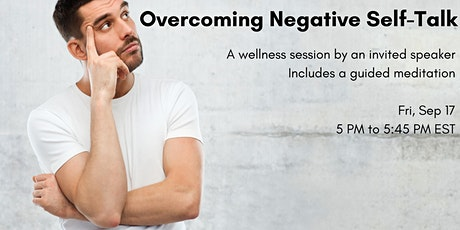 Overcoming Negative Self Talk tickets