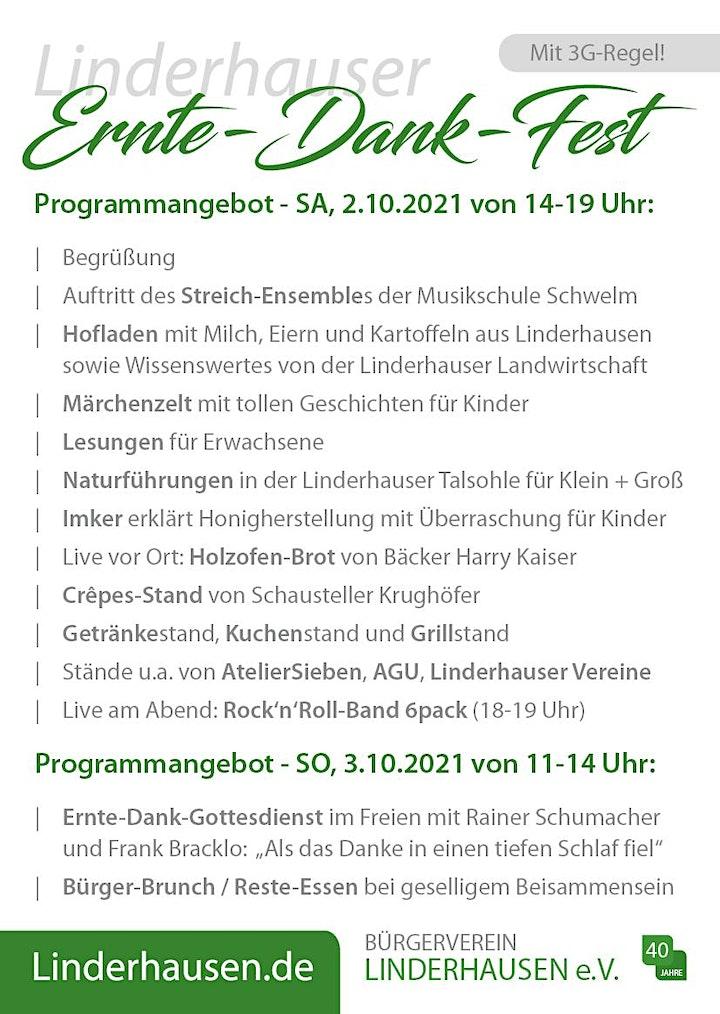 Linderhauser Ernte-Dank-Fest 2021: Bild