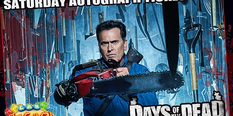 Bruce Campbell Saturday Autograph Ticket Days Of The Dead Las Vegas tickets