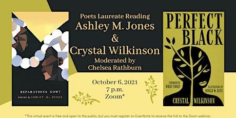 Ashley M. Jones & Crystal Wilkinson: Poets Laureate Reading tickets