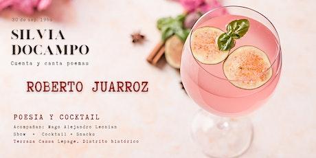 Silvia Docampo cuenta y canta la poesía de Roberto Juarroz. entradas