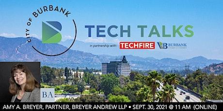 Burbank Tech Talks: Amy A. Breyer, Esq. (Sept. 30, 2021) tickets