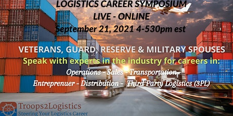 The Veteran & Military Spouse Logistics Career Symposium tickets