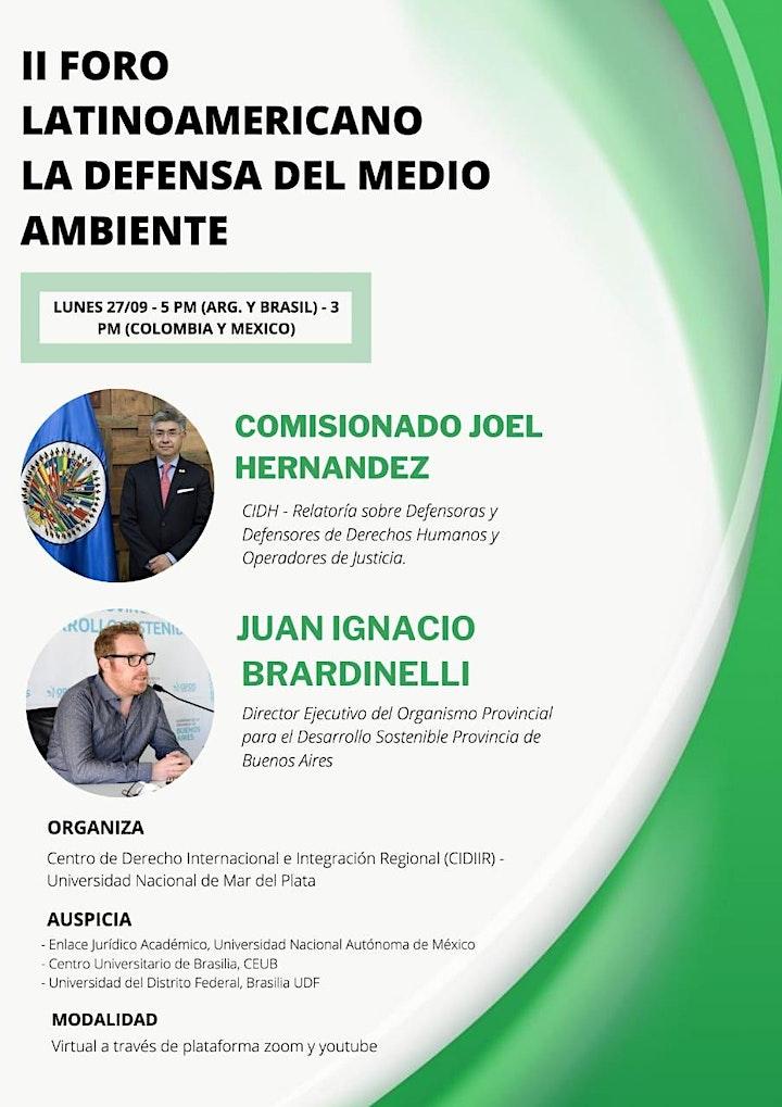 Imagen de FORO LA DEFENSA DEL MEDIO AMBIENTE