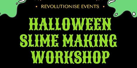 Halloween Slime Making Workshop tickets