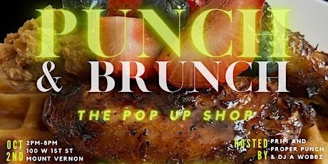 Punch & Brunch | The Pop Up Shop tickets