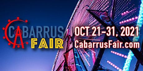 Cabarrus Fair tickets