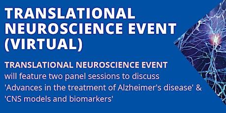 Translational Neuroscience Event tickets