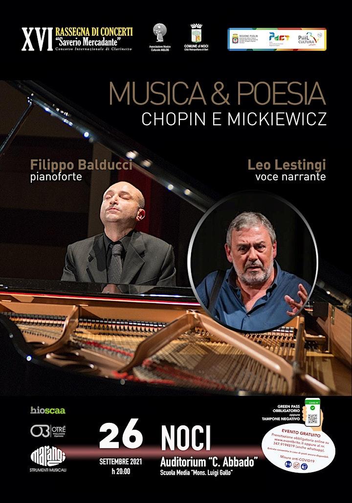 Immagine MUSICA & POESIA Chopin e Mickiewicz