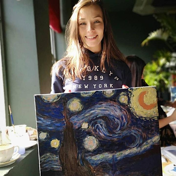 Introducing Van Gogh Painting Workshop image
