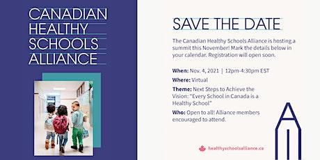 2021 Canadian Healthy Schools Summit tickets
