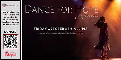 Dance for Hope - Benefit Performance Oct 8th, 2021 tickets