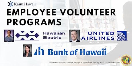 Employee Volunteer Programs tickets