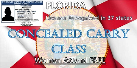Concealed Carry Class  - Fall Special - Women FREE tickets