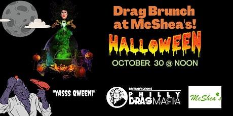 Halloween Drag Brunch at Mcshea's tickets