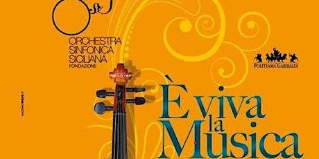 -OSS-Orchestra Sinfonica Siciliana  - Sciacca -  Piazzolla Grieg & Dvoràk biglietti