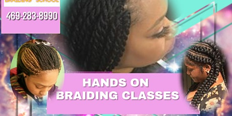 Braiding class 2021(Richardson) tickets