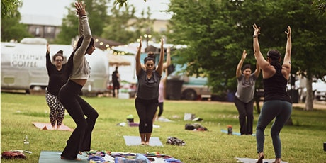 Full Moon Flow - Outdoor yoga, meditation and sound in Mueller Lake Park. tickets